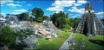 Lost world found: Tikal National Park, Guatemala