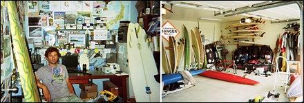 Fletcher Chouinard working hard at the office & Home Garage