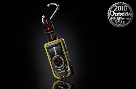 Pentax Optio W90 Point-and-Shoot Camera