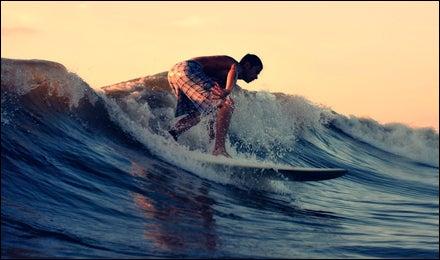 Off Florida's Cocoa Beach