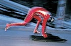 Austria's Franz Planegger races in skeleton, a daring sport returning to the Games after a 54-year hiatus.