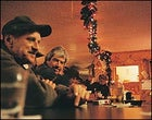 William Parriseau's friends at the VFW bar