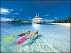Attending school in Fiji's clear blue wonders