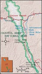 National Park: Capitol Reef National Park