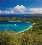 U.S. Virgin Isles: Bay of plenty, land of sand