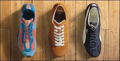 Cyprus by Polo Sport by Ralph Lauren, Simple Sneaker, & Puma Barnett Mesh