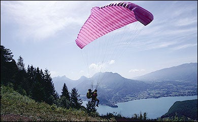 adventure sports camps Skydiving, Paragliding