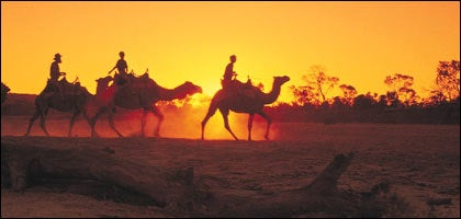 Right Through the Red Center: En route on the Ghan