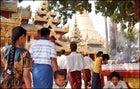 Anvient Pagoda in Bagan, Burma
