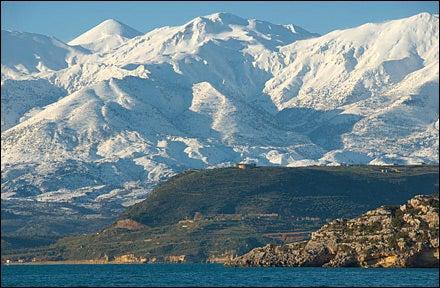 White Mountains, Marathi, Akrotiri, Crete