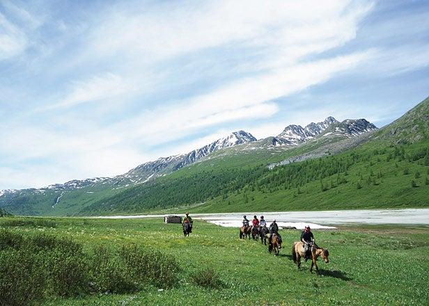 Altai Tavan Bogd National Park Mongolia