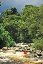 Kayaking Congo River Tributary