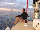 Bovim today on his sailboat, Synove