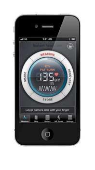 Heart-rate app
