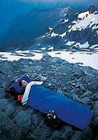 Bivy near Mount Shuksan's Sulphide Glacier