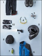 Spring gear, cycling