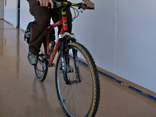 cycling indoors