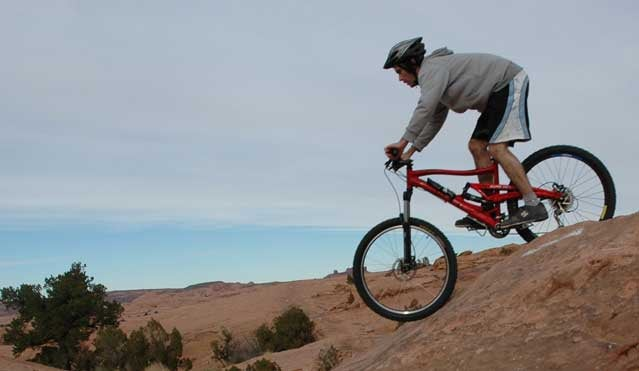 decrease in mountain biking injuries