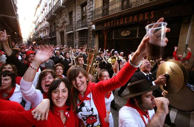 Calle Mayor, Pamplona, Spain