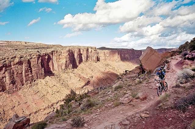 Moab's Porcupine Rim Trail