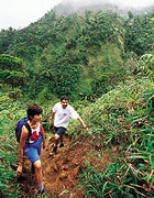 Hell of a time: Dominica's Boiling Lake Trail