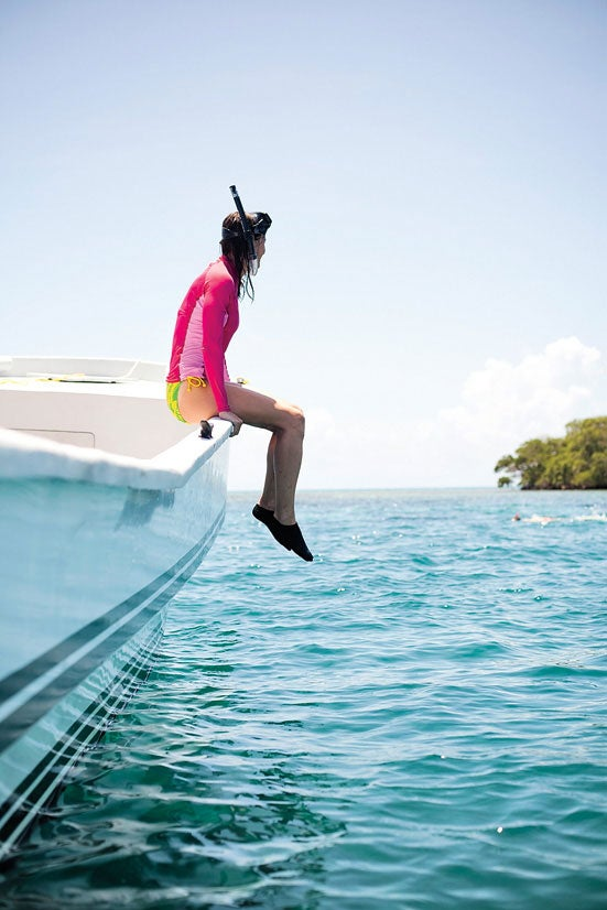 Snorkeling Thatch Key