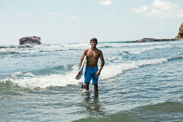 Surfer Rex Calderon
