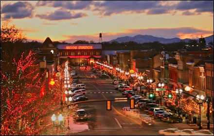 Ogden, Utah 25th Street nightlife