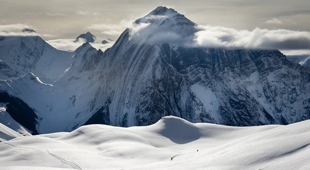 On the Icefall Traverse in British Columbia