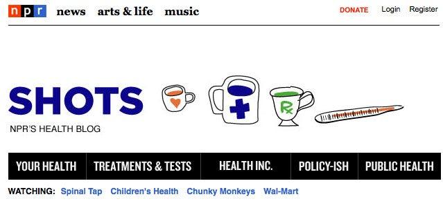 NPR Shots Blog