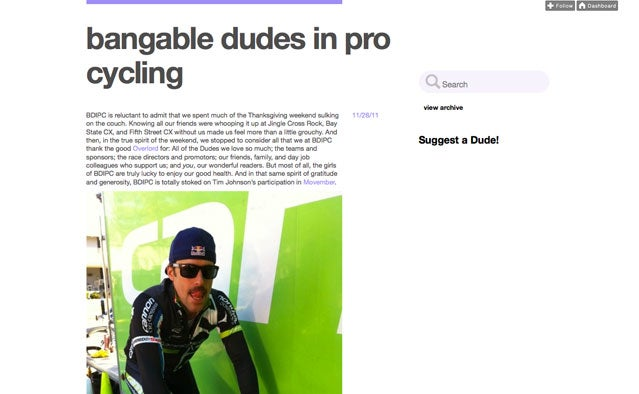 Bangable Dudes in Pro Cycling