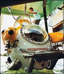 Underwater Exploration: Karl Stanley
