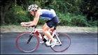 Chrissie Wellington biking
