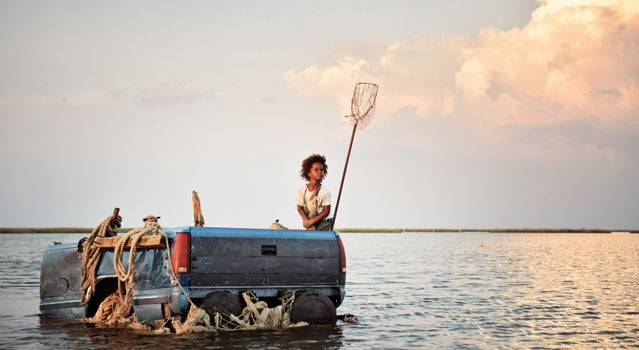 8-year-old Quvenzhane Wallis plays the character Hushpuppy