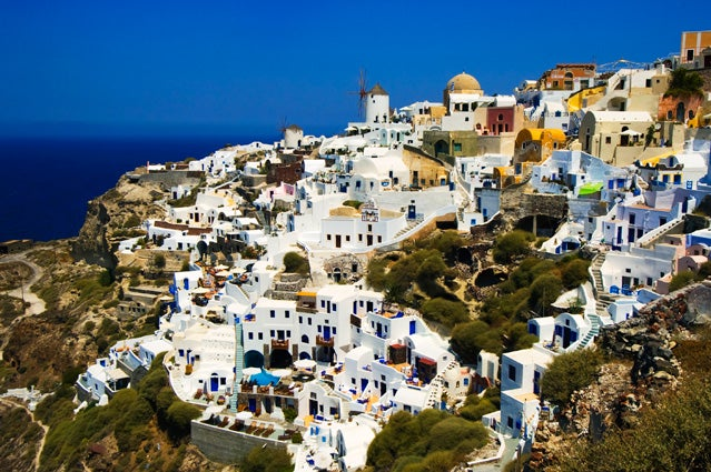 You'd never know there was a debt crisis in Greece.