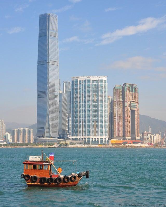 Ritz Carlton in Hong Kong