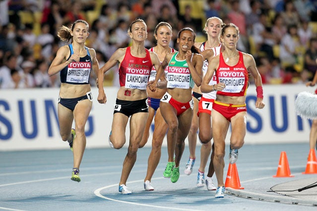 Jenny Simpson wins gold at the 2011 World Championships