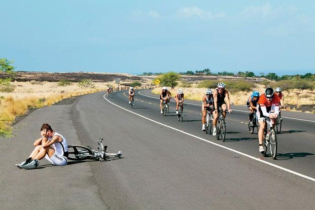 Bonking at the Ironman World Championships