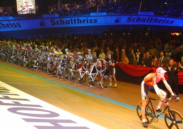 Introductions at the 2006 race