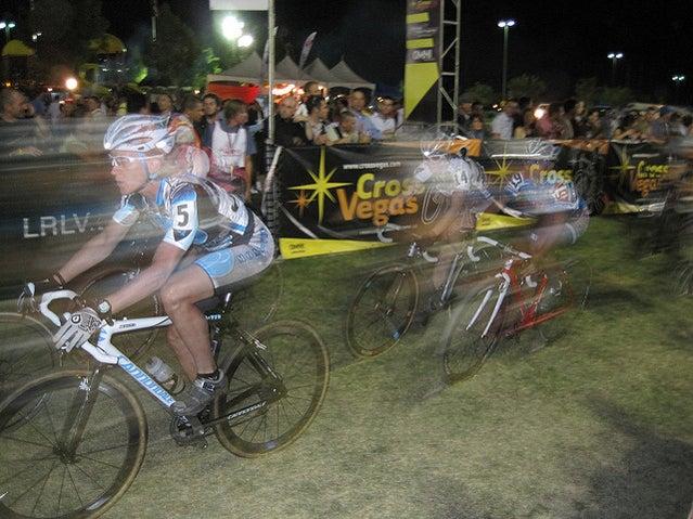 The women's race at CrossVegas