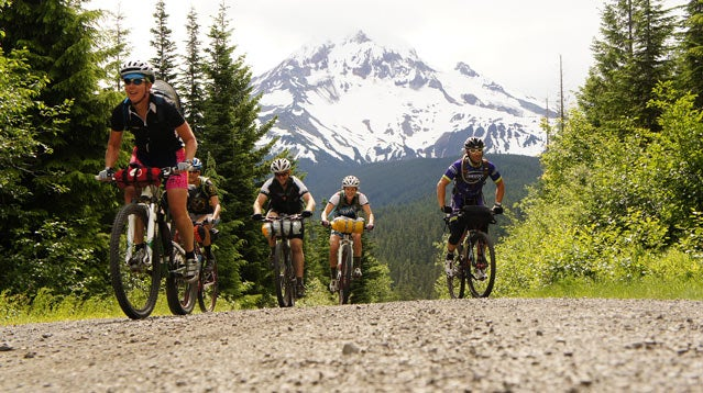 Mt. Hood bikers