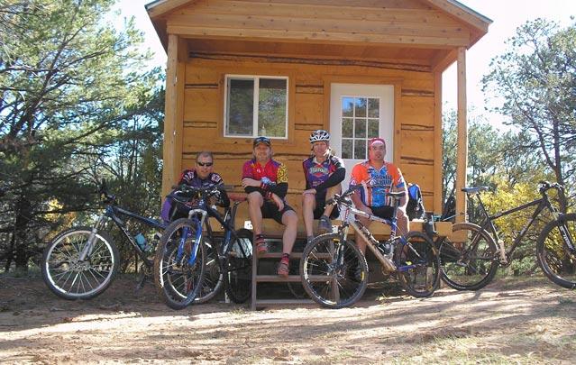 Backcountry Biker's Huts