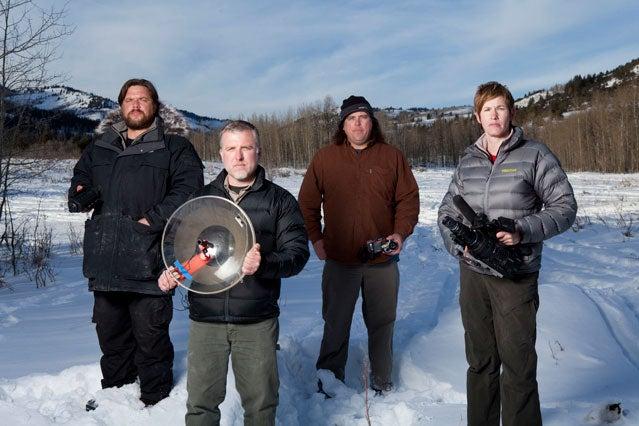 Finding Bigfoot crew