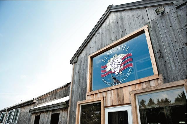 A key stop on your Exeter tour: Flag Hill Winery