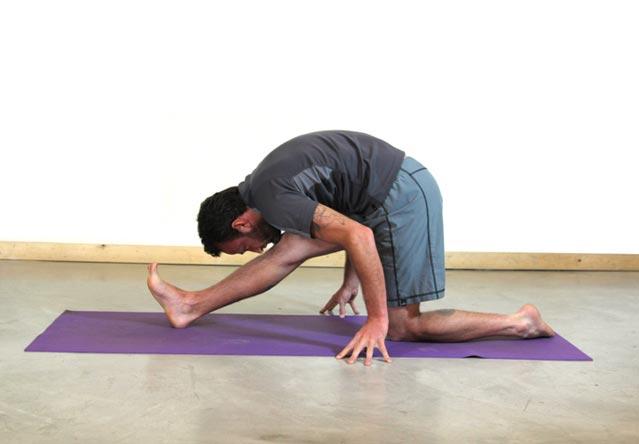 One-Legged Forward Bend