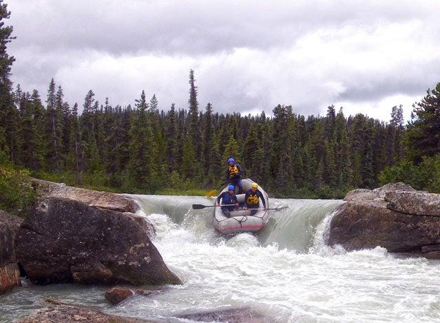 Yukon Territory rafting