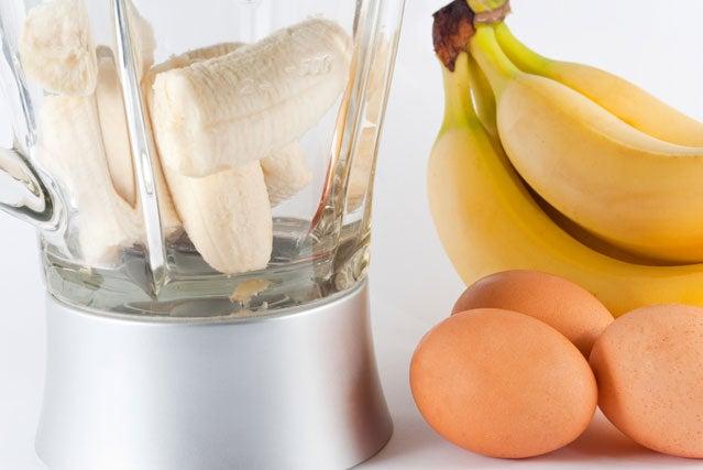 smoothie eggs banana