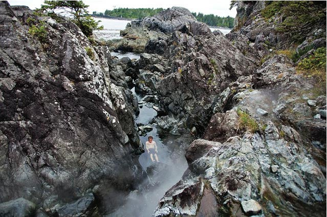 Hot Springs Cove off Clayoquot Sound