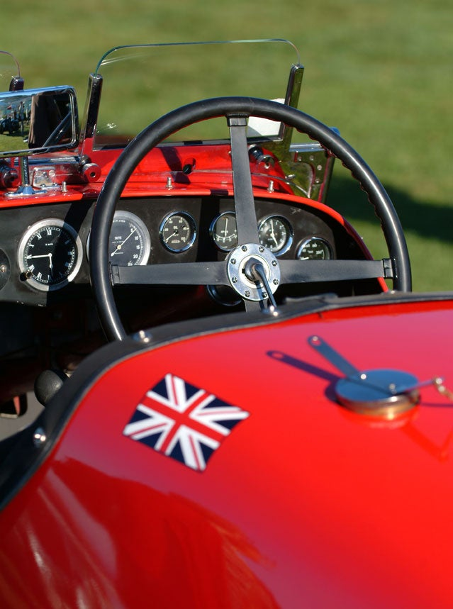 Classic English car