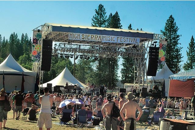 The High Sierra Music Festival's main stage